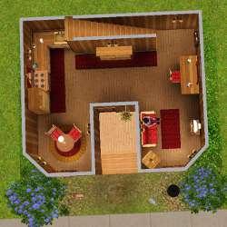sims 3 t l chargement maison ma cabane en bois. Black Bedroom Furniture Sets. Home Design Ideas